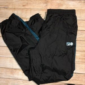 Vintage Fila Men Windbreaker Pants XL
